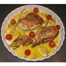 Pieczona pierś kurczaka z niepowtarzalnym aromatem ziół