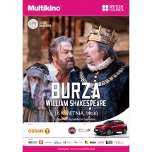 """Burza"" Williama Szekspira z teatru The Globe"