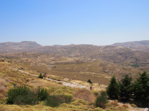 Krajobrazy w Skamieniałym Lesie - i w zachodniej części wyspy są wręcz marsjańskie