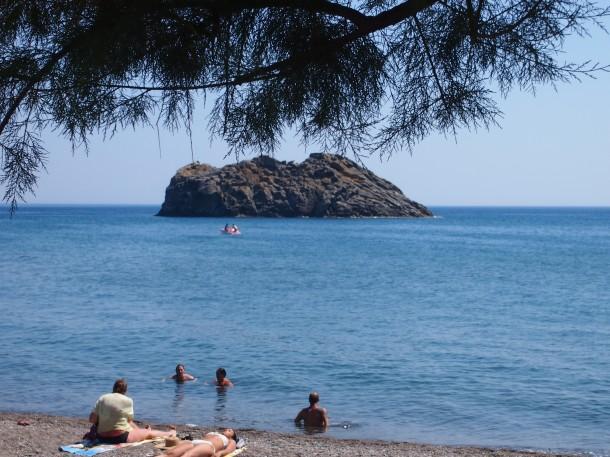 Skala Eresou. Miasto, z którego pochodziła najsłynniejsza mieszkanka Lesbos, Safona.