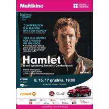 Benedict Cumberbatch jako Hamlet