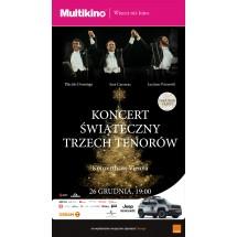 Koncert Świąteczny Trzech Tenorów