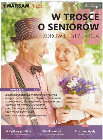 """Kampania edukacyjna """"W trosce o seniorów: zdrowie i styl życia"""""""