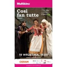 """""""Cosi Fan Tutte"""" z MET Opera"""