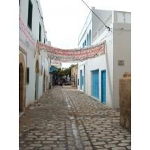 Jedna z wielu uliczek w El-Mahdiji