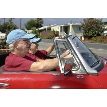 Każdy kierowca powinien pamiętać, że u osób po pięćdziesiątce pogarsza się motoryka i słabnie psychika