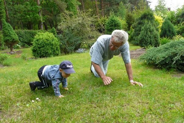 Do wnuka trzeba umieć się dostosować.