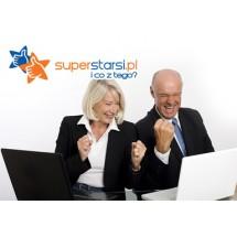 Jeśli za coś lubisz portal superstarsi.pl, prosimy wyślij SMS-a. Pomóż nam zdobyć statuetkę Webstar!