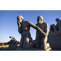 Rzeźba Gustawa Vigelanda, Oslo