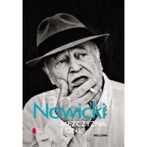 Jan Nowicki na okładce swojej książki