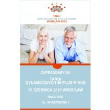 Targi Dynamiczni 50 Plus Minus, Wrocław 15 czerwca 2013 roku