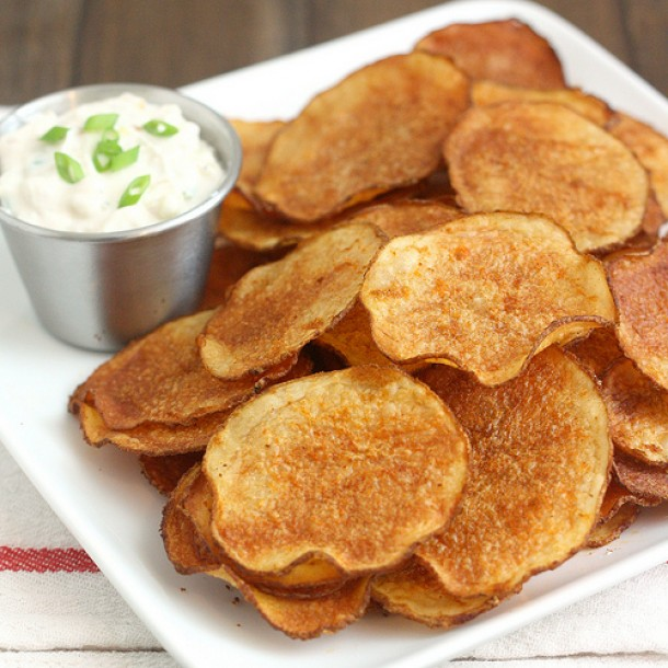 Chipsy Paprykowe